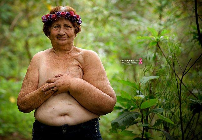 Neta compartilha série de fotos inspiradora de sua avó de 72 anos e comove internautas