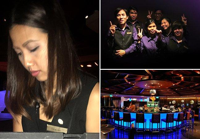 A incrível experiência sensorial deste restaurante no escuro em Bangkok onde todos os garçons são cegos