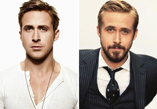 Antes e depois: seria essa a prova cabal de que qualquer cara fica mais gato de barba?