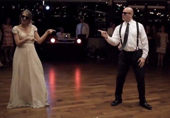 Este pai dançando no casamento da filha é a coisa mais divertida que você vai ver hoje