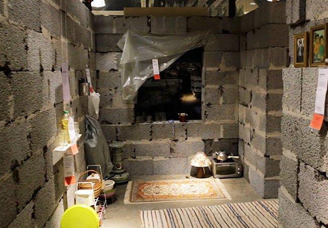 IKEA chama a atenção para condições de vida de refugiados ao recriar um abrigo sírio em uma loja