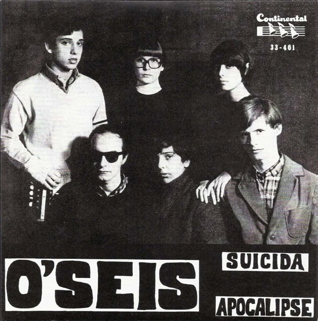 Capa do primeiro compacto da banda, quando ainda se chamavam O'Seis