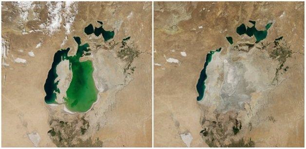 o-mar-de-aral-na-asia-central-agosto-de-2000-e-agosto-de-2014