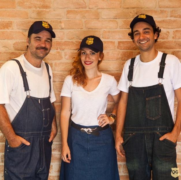 O trio Eduardo, Silvia e Pedro