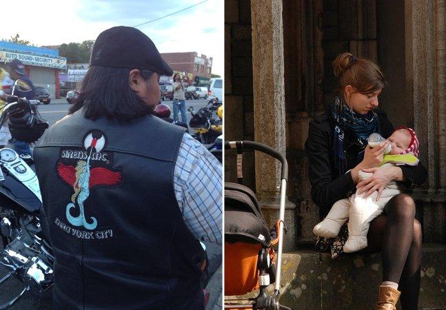 A gangue de mulheres motoqueiras que entrega leite para ajudar bebês prematuros