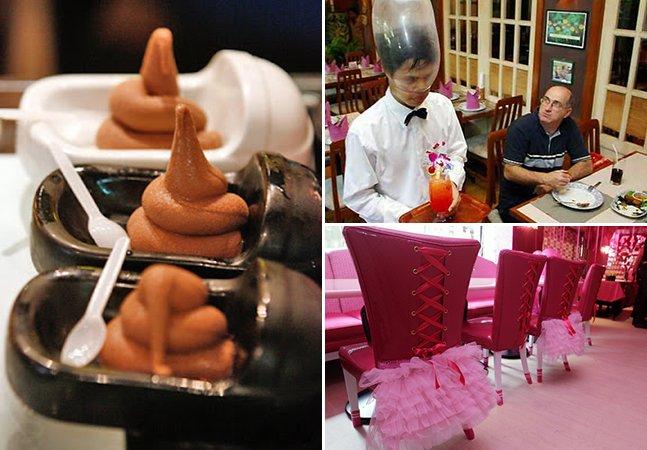 Da Barbie ao banheiro: conheça os inusitados restaurantes temáticos de Taiwan