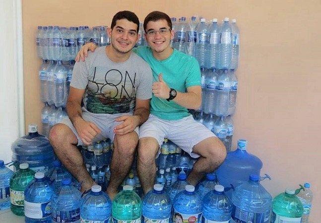 Entenda por que esse jovem brasileiro decidiu pedir água de presente de aniversário