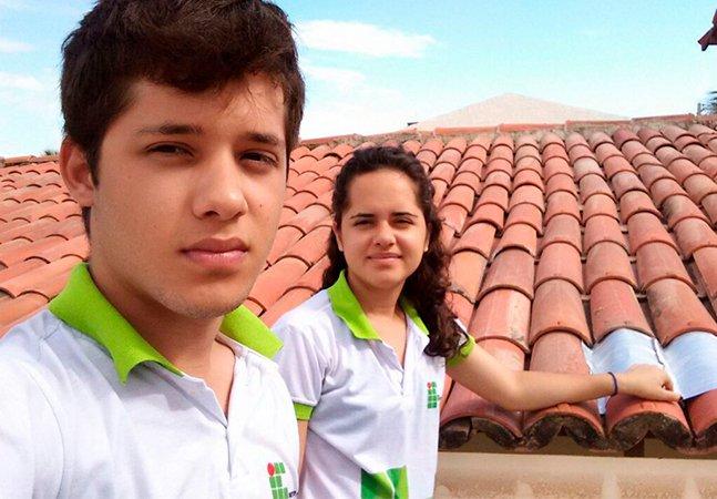 Jovens brasileiros usam caixas de leite para reduzir temperatura das casas