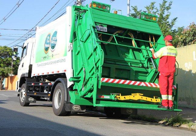 Interior de São Paulo recebe primeiro caminhão de lixo movido a energia elétrica do mundo