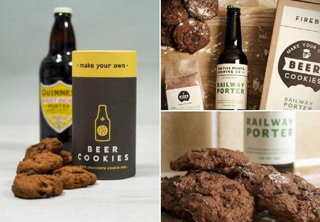 Startup cria kit dos deuses para você fazer seus próprios biscoitos (ou bolachas?) de cerveja