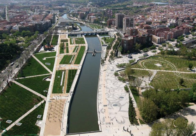 Madri decide destruir marginal para dar lugar a um parque linear de 10 km