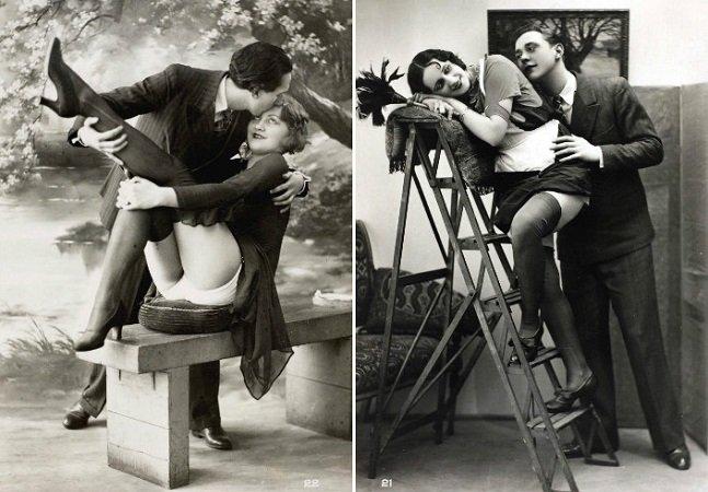Os maravilhosos postais eróticos dos loucos anos 1920