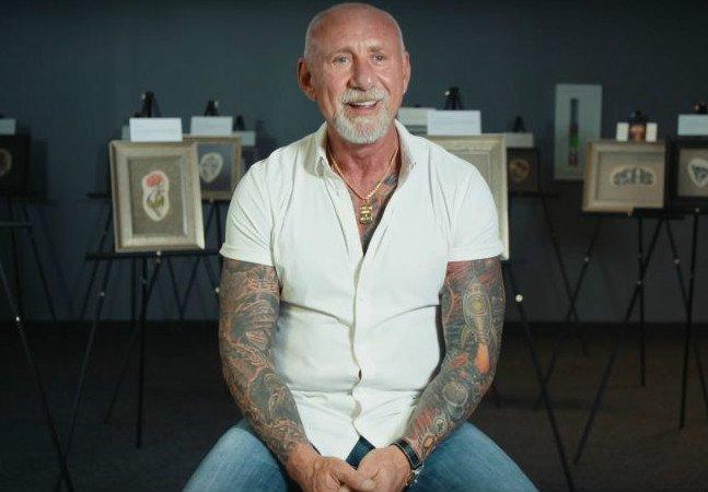 Ele criou uma maneira de eternizar tatuagens mesmo após a morte