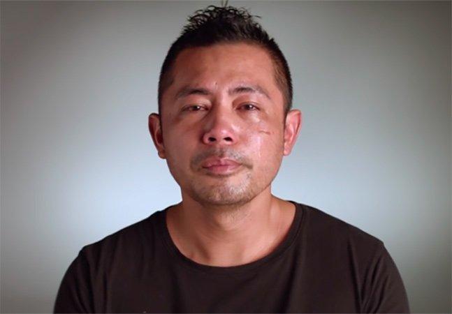"""""""Vire homem!"""": Vídeo tocante de luta contra o suicídio masculino lembra a importância de chorar"""