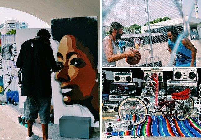Encontro de Hip Hop em SP reúne cultura afro e de rua com destaque para as mulheres