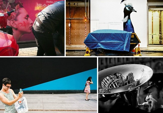 Estas fotografias urbanas mostram o poder do 'timing'