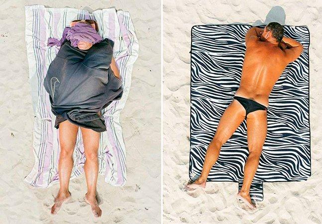 Fotógrafo registra a tranquilidade e descontração de pessoas comuns tomando sol