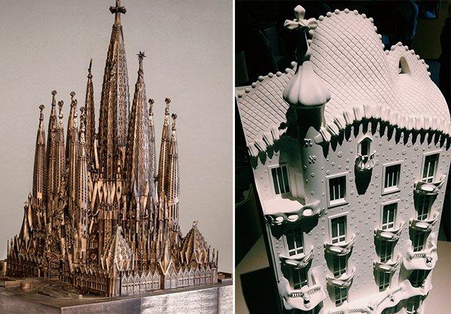 Mostra em SP desvenda a surpreendente anatomia das obras de Antoni Gaudí por meio de maquetes