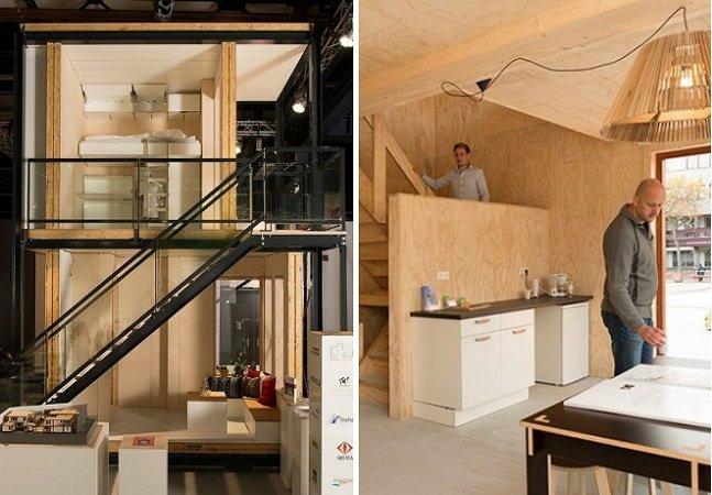 Holanda desafia designers a criar casas para refugiados e o resultado é incrível