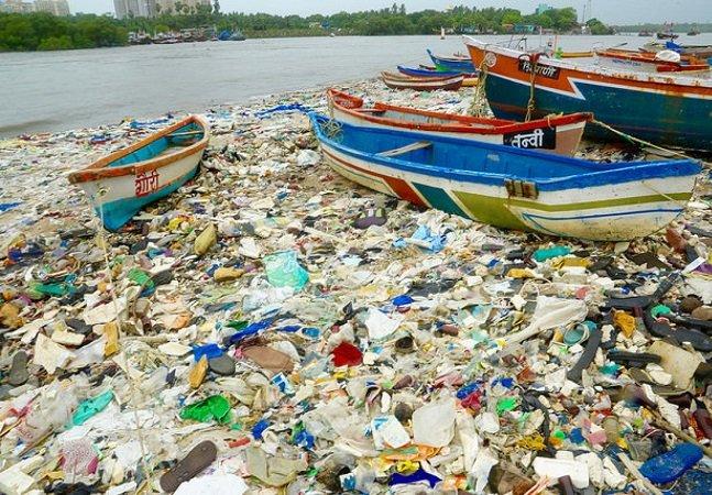 A Índia fez a maior limpeza de lixo de sempre em uma praia graças a um homem que cansou da sujeira na natureza