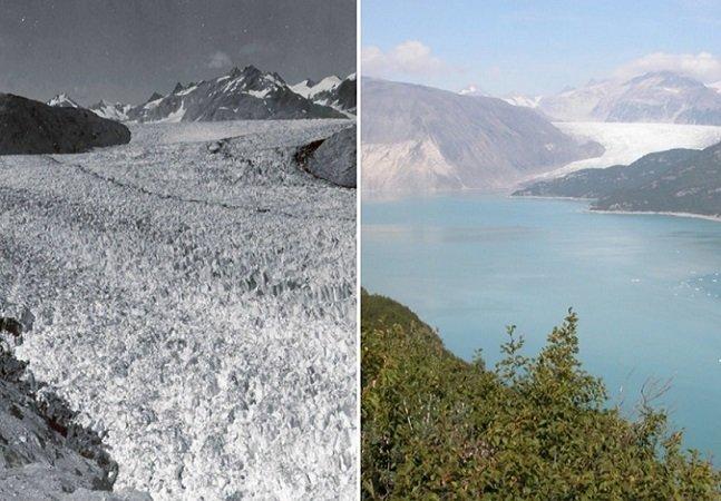 NASA revela fotos no estilo 'antes e depois' para mostrar o que estamos fazendo com o planeta