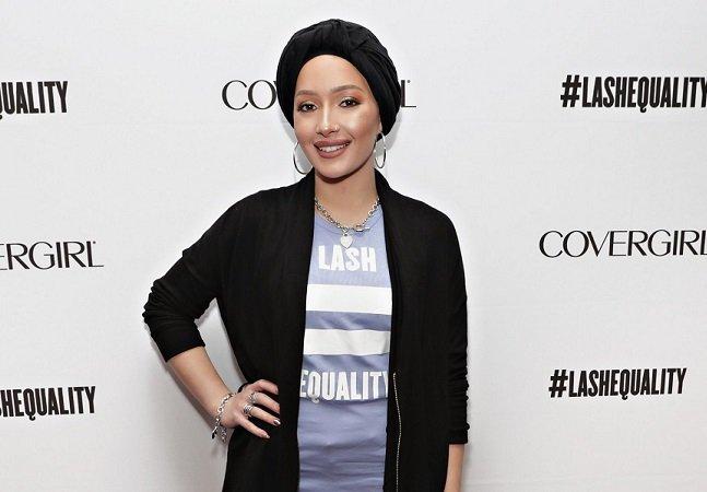 Marca de maquiagem escolhe modelo de hijab como garota propaganda
