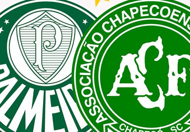 Respeito: Palmeiras quer jogar última rodada do brasileiro com a camisa da Chape