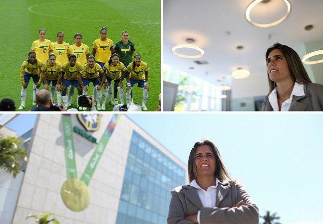 Seleção brasileira feminina terá treinadorA pela primeira vez na história