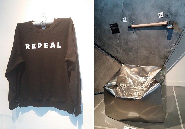 Fomos a Dublin conhecer uma exposição sobre design que vai fazer você pensar sobre o que é violência