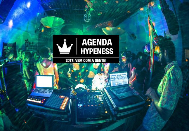 Agenda Hypeness: 2017 se aproxima com festas bombásticas