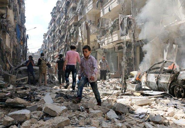 Algumas coisas práticas que você pode fazer a respeito da catástrofe em Aleppo, na Síria