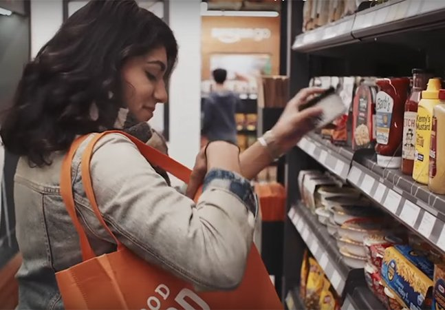 Amazon revoluciona supermercado: nele você simplesmente entra, pega o que quer e vai embora