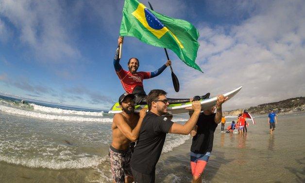 O bicampeão mundial Felipe Lima