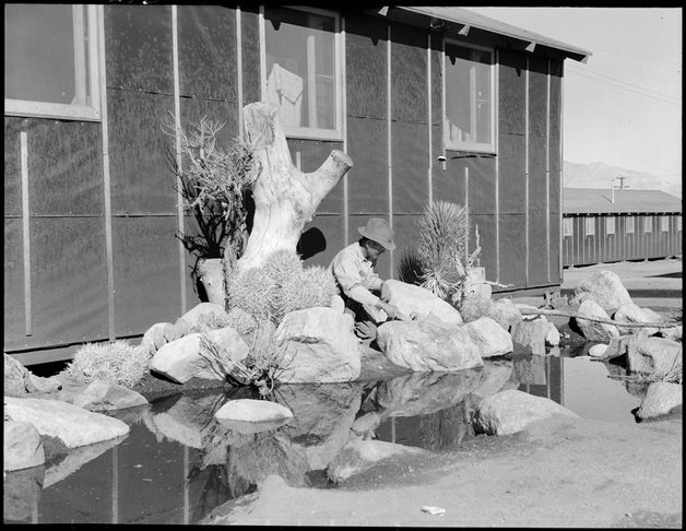 Manzanar Relocation Center, Manzanar, California. William Katsuk