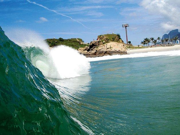 A onda da Praia do Diabo
