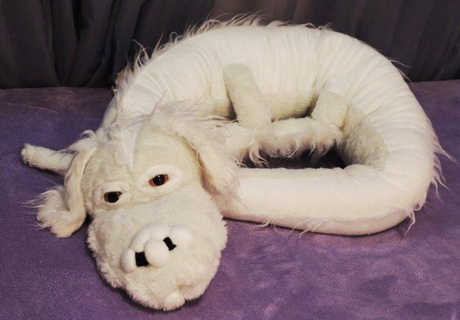 Brasileira produz e vende Falkors de pelúcia, o amado cão-dragão de 'História sem Fim'