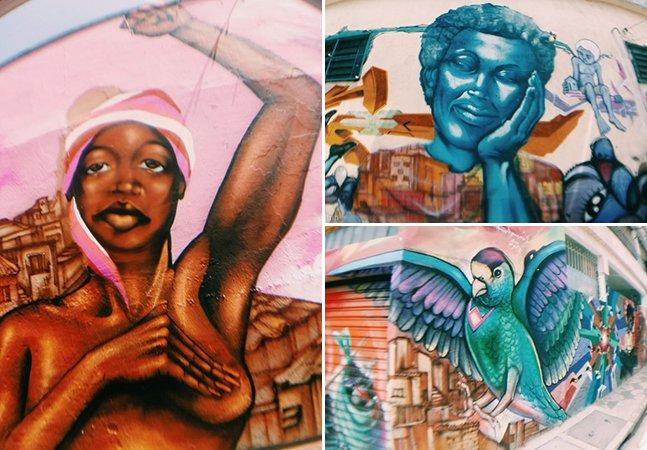 Murais da Favela Galeria levam cultura e arte de rua ao bairro São Mateus em SP