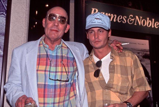 Hunter Thompson e Johnny Depp