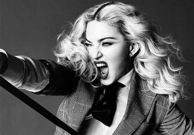 O poderoso discurso de Madonna ao ser eleita mulher do ano pela Billboard