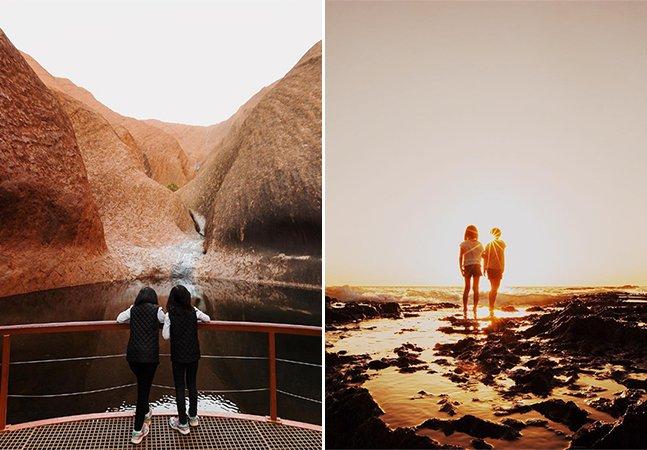 Pai e designer retrata o cotidiano das filhas gêmeas com composições fotográficas maravilhosas