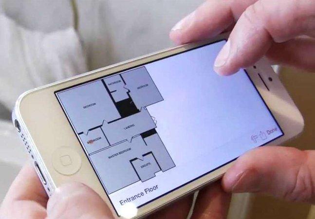 Com este app você consegue tirar medidas de um cômodo apenas encostando o celular na parede