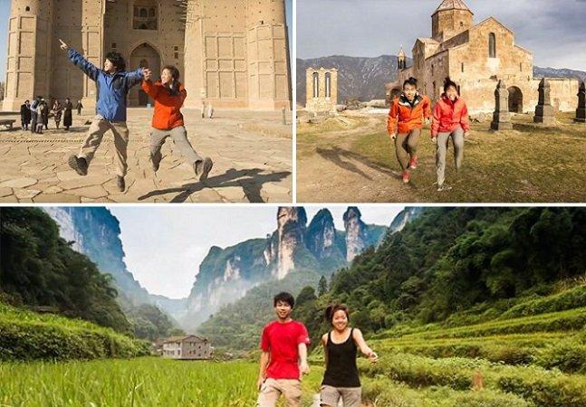 Depois de um ano viajando pela Ásia, casal faz incrível resumo de 3 minutos em hyperlapse