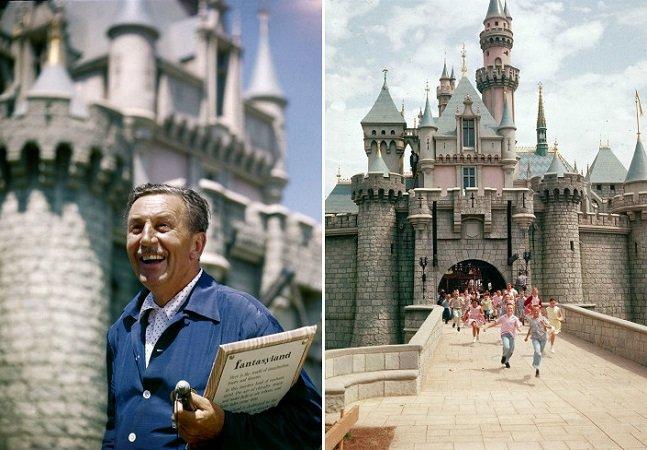 Fotos mostram como a Disney era diferente quando foi inaugurada na década de 50