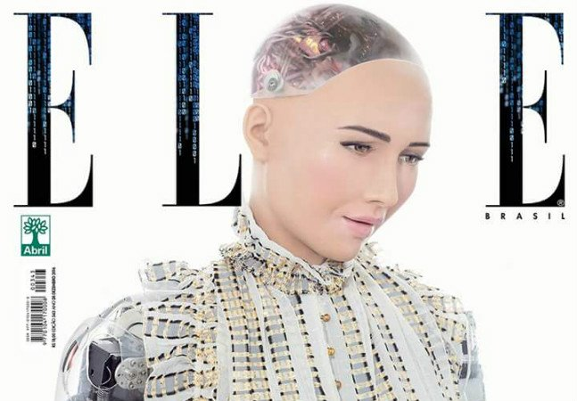 Pela primeira vez, Elle Brasil troca modelo humano por robô de inteligência artificial