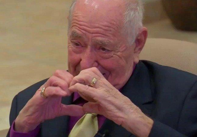 Um encontro romântico com a esposa pode ter salvado a vida deste senhor de 91 anos