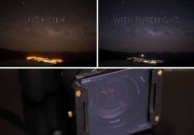 Este filtro 'limpa' a poluição luminosa para deixar suas fotos do céu noturno mais nítidas
