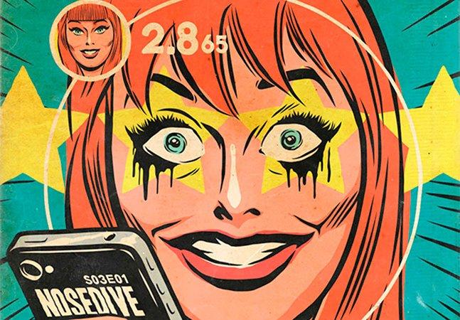 Artista brasileiro cria capas de quadrinhos inspiradas na série Black Mirror