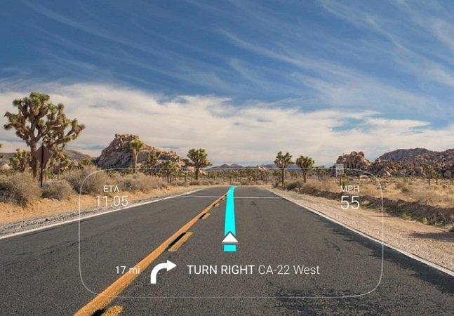Tela inteligente permite que você use seu smartphone de boa enquanto dirige