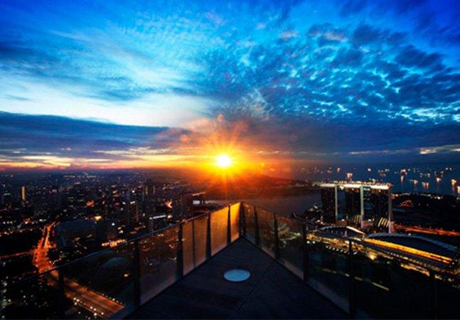 As 5 melhores vistas para curtir em Cingapura