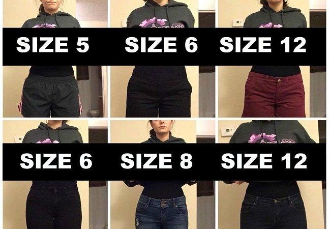 Ela levantou um debate importante sobre tamanhos de roupas e auto estima entre jovens